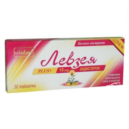 Левзея PLUS - 30 таблетки