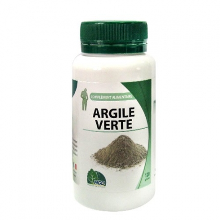 Зелена глина 120 капсули по 455 мг