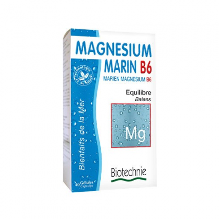 Морски магнезий B6 - 40 капсули