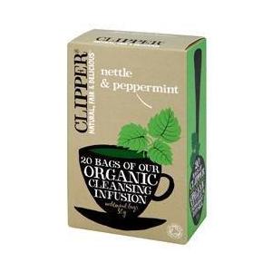 Био пречистваща билкова смес за чай от коприва и мента-20бр.