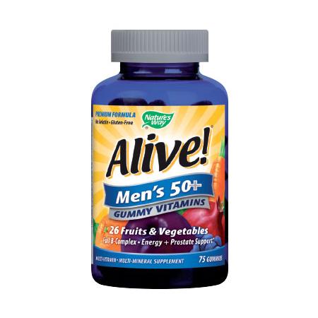 Мултивитамини за мъже 50+ 94 мг. – 75 таблетки