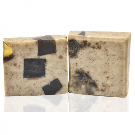 Ръчен глицеринов сапун кафе и мед-120гр.