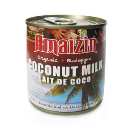 Био кокосово мляко за готвене 400 мл