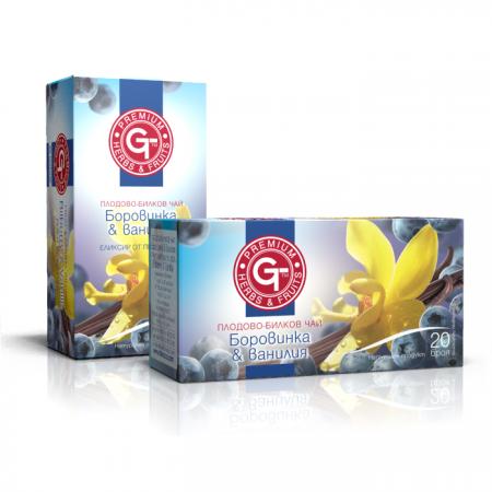 Чай боровинка и ванилия-GT