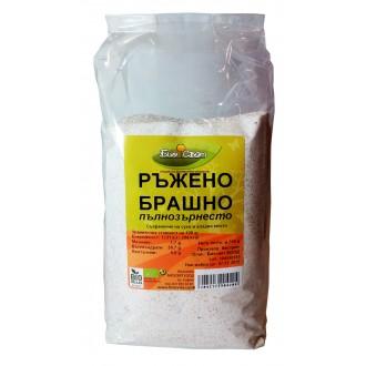 Био ръжено брашно пълнозърнесто-750г-
