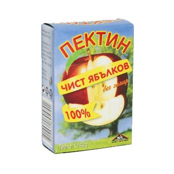 Чист ябълков пектин без захар 40 гр.