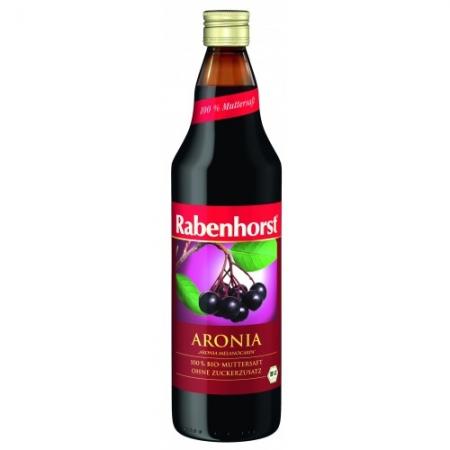 Биологичен сок АРОНИЯ 100% - RABENHORST -330мл