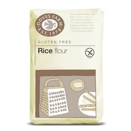 Оризово брашно БЕЗ ГЛУТЕН 1 кг., Doves Farm