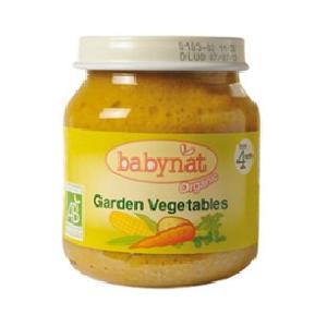 Био пюре зеленчуково градински зеленчуци 130 гр.