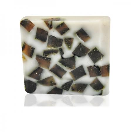 Ръчен глицеринов сапун тройчатка и хума-120гр.