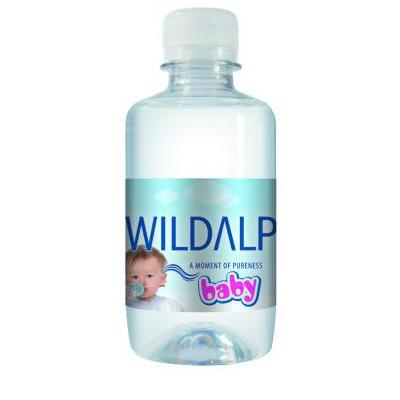 Натурална изворна вода за бебета 250 мл.