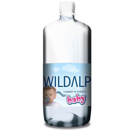 Натурална изворна вода за бебета 1 л