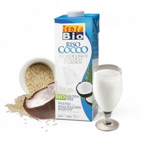 Био оризово-кокосова напитка БЕЗ ГЛУТЕН 1 л