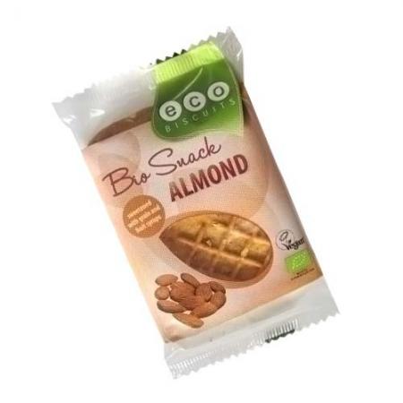 Био бисквита с бадеми - ВЕГАН 45 гр.