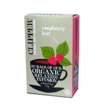 Био успокояваща плодова смес за чай от листа на малина-clipper