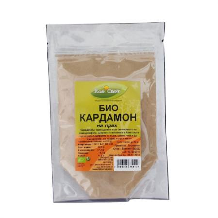 Био Кардамон на прах (смлян) 25 гр