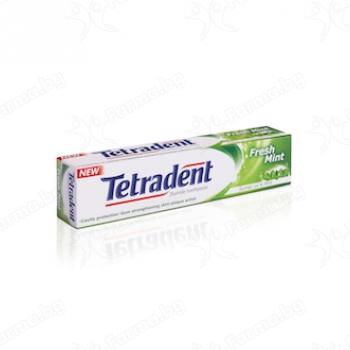 """Паста за зъби тетрадент""""fresh mint""""-75 мл."""