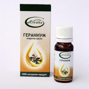 Гераниум-100% етерично масло-10мл.