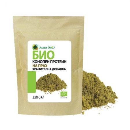Био конопен протеин на прах 250 г.