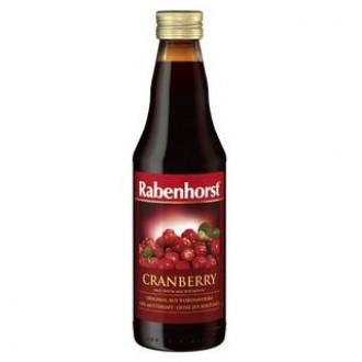Натурален сок Червена боровинка 100% - 330 мл.