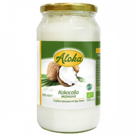 Био студено пресована кокосова мазнина-950 мл.