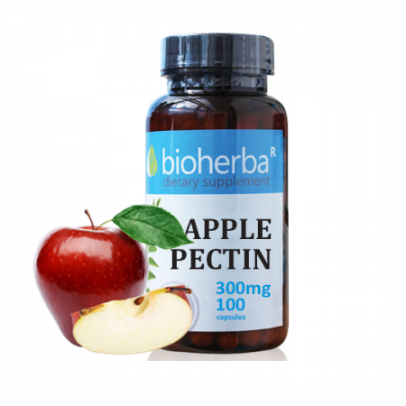 Ябълков пектин 300 мг. - 100 капс.