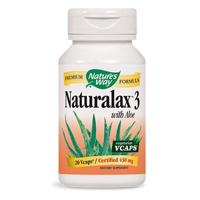 Натуралакс 3 410 мг. - 20 капс.
