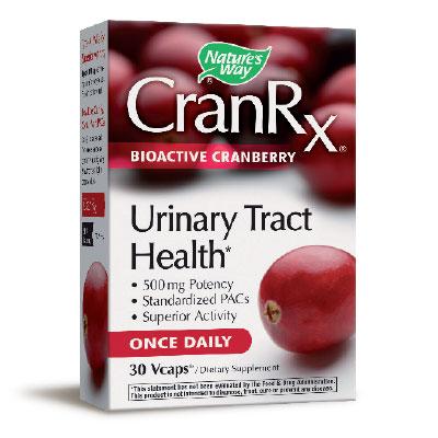 Кран Rx – Червена боровинка 500 мг. - 30 капс.