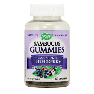 Самбукус Гъми 25 мг. - 60 желирани таблетки