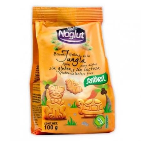 Детски бисквити Джунгла, без глутен, без лактоза, без яйца 100г