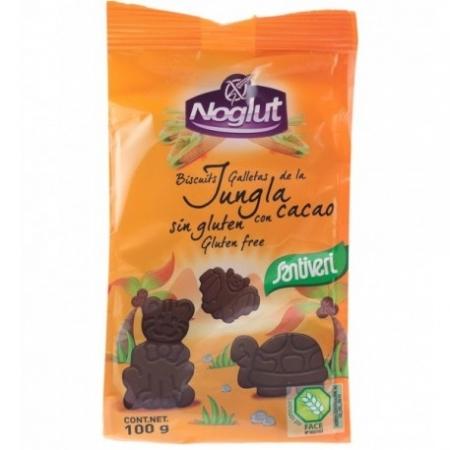 Детски бисквити Джунгла с какао, без глутен 100г