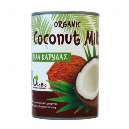 Био Кокосово мляко 50%, 400мл