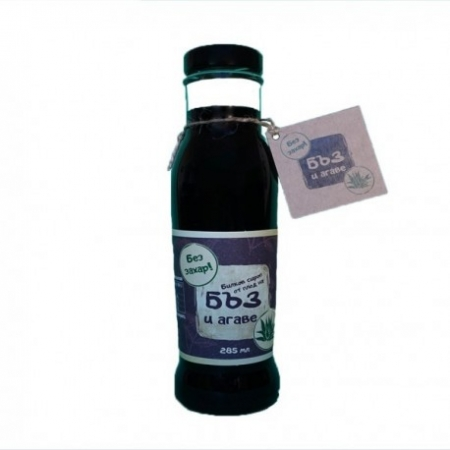 Сироп от Бъз плод и Агаве 0.285л