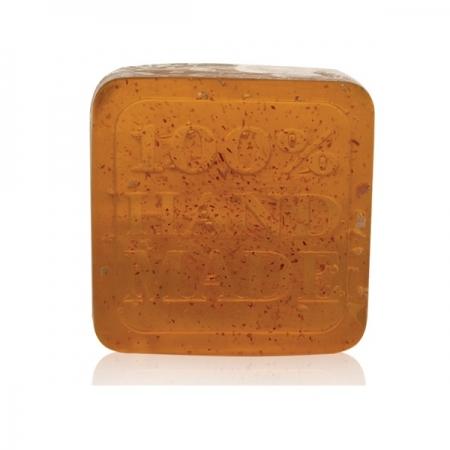 Ръчен глицеринов сапун Ягода лист 60гр.