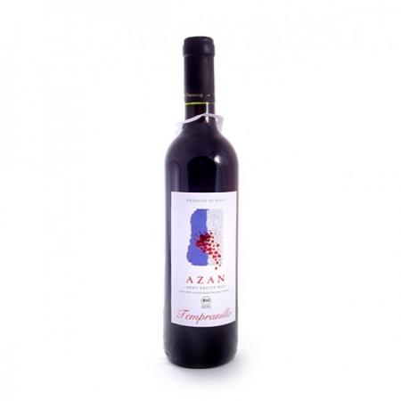 Био вино Темпранийо - Азан 750 мл
