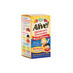дъвчащи мултивитамини за деца/ 1.55г.- 120 табл.-