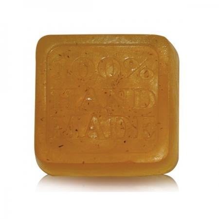 Ръчен глицеринов сапун бял равнец-60 гр.