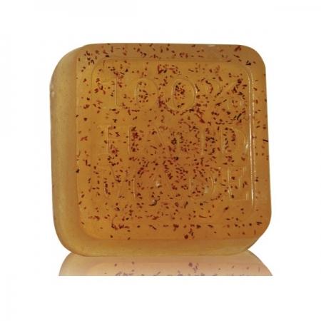 Ръчен глицеринов сапун червен кантарион-60 гр.