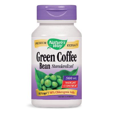 Зелено Кафе на Зърна 500мг. - 60 V-капс.