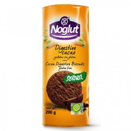 Какаови бисквити Диджестив, без глутен, без яйца 200г