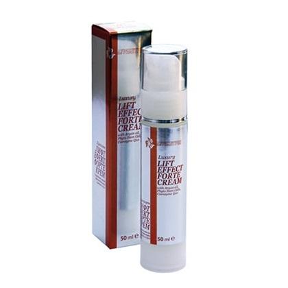 Крем за лице - Луксозен лифт ефект форте крем с арганово масло, фитостволови клетки и Q10