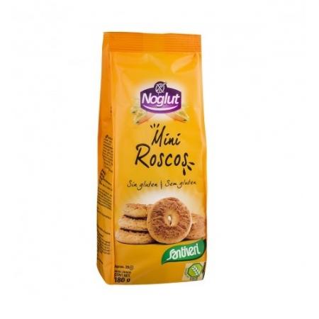 Бисквити обикновени мини, без глутен, лактоза, яйца и лупина 180 г, Noglut