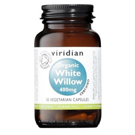 Органична бяла върба 400 мг – 30 капсули