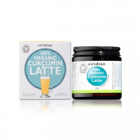 Органичен Куркумин Лате - 30 гр