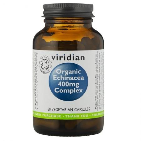 Органична ехинацея комплекс 400 мг – 60 капсули
